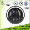 지프 50W를 위한 크리 사람 7 인치 LED 자동 헤드라이트
