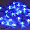 La cadena solar del LED enciende luces de tira de hadas del globo de la bola 24LED