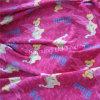 Tessuto di lavoro a maglia della nervatura degli indumenti da notte CVC dei bambini