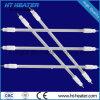 Vidrio de cuarzo de infrarrojos tubo de calefacción