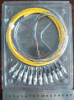Tresse de fibre optique de FC de 12 faisceaux