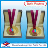 Medalhão feito sob encomenda Coin Badge Medal Gift Box para Sports Medal e Coin Badge de Medal Box Leather Velvet Wooden (lzy-201300058 (10))