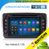 Carro DVD DAB+ Android 5.1 de Erisin Es3063c 7 do  para o Benz C/Clk