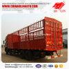 De Vrachtwagen van de Omheining van de Opslag van Dongfeng 8*4 voor de Lading van het Vee