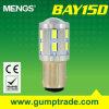 Mengs&reg ; 1157 éclairage LED de Bay15D 12W Auto avec du CE RoHS SMD 2 Years'warranty (120110009)