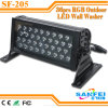 IP65 imperméable à l'eau DEL 36*3W RVB Wall Washer Light