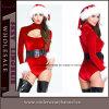 도매 형식 우단 크리스마스 미인 배기판 Bodysuit 사육제 복장 (7248)