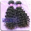 Francés Curl armadura del cabello humano con el pelo totalmente de Wefted