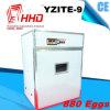 Incubatrice del pollo di vendita più calda delle 880 uova di Hhd per vendita (YZITE-9)