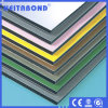 Comitato composito di alluminio dell'alluminio del PE PVDF di prezzi competitivi ASP Alucbond//parete divisoria