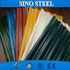 Folhas da telhadura/galvanizadas telhando ondulado revestido da cor da folha/zinco