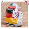 Banco de moneda de cerámica de la forma del zapato del color de 2016 banderas