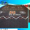 Neue Muster-mit hoher Schreibdichtegymnastik-Eignung-Gummibodenbelag