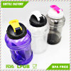 2.2L широкая бутылка воды спорта рта PETG пластичная