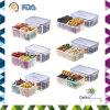 Recipiente di plastica di imballaggio per alimenti dei pp per alimento con gli scompartimenti