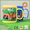 Umweltfreundliches Cup des Becher-3D, kundenspezifische Plastik-Belüftung-Becher-Cup