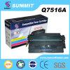 Laser Printer Toner Cartridge Compatible della sommità per 7516A