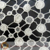 Baumwolle Wasser-lösliches Lace Fabric mit Wave Point Pattern (M0512)