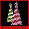 휴일 훈장 옥외 황색 PVC 크리스마스 나무