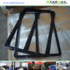 De zwarte Poeder Met een laag bedekte Vervaardiging van het Metaal van het Blad van het Roestvrij staal