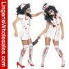 Costume Cosplay женское бельё нюни зомби платья партии Halloween для женщин