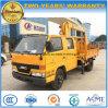 4*2 Jmc 3 Tonnen Mannschafts-Fahrerhaus-LKW-hing mit XCMG Kran ein