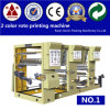 Due Color 1000mm 3 Stations 2 Color Rotogravure Printing Machine