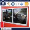 Guichet de glissement en aluminium avec Windows en verre/en aluminium reflété (SL-7790)