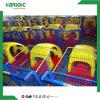 スーパーマーケットの赤ん坊のためのプラスチックレンタル可能の子供のおもちゃの買物車