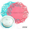20cm Flower Anti-Slip Silicone Tableware Pad