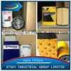 Filtro de aceite / combustible con la marca (Fleetguard, gato, Perkins, JCB)