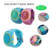 Relógio do perseguidor do GPS dos miúdos com ranhura para cartão de SIM (D12)