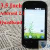 3.5 telefone de pilha esperto destravado do telefone do quadrilátero de WiFi do Android 2.3 da polegada faixa capacitiva S3 com presente do Natal (S720C)
