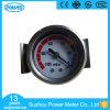 calibre de pressão de aço preto do vácuo de 1.5 '' 40mm com braçadeira de U