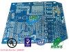 PWB 8L azul para as peças aeroespaciais