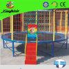 Calidad superior de Trampolín redondo con la escala para los niños (LG056)