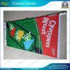 La bannière respectueuse de l'environnement de drapeau de rue, drapeaux nationaux, drapeaux extérieurs, drapeaux de polyester, drapeaux de promotion, bannière de plage, folâtre le drapeau, la bannière extérieure (*NF02F06002)