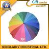 Подгонянное Rainbow Rain Umbrella с Custom Branding для Gift (KU-007)