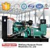 LCD Digital Control Panel 300kw Diesel Generator Engine