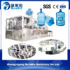 Terminar la línea de embotellamiento del agua mineral de 5 galones