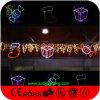 Luz ao ar livre da decoração do diodo emissor de luz do traje do Natal do feriado