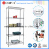 크롬 DIY Home 또는 Office Metal Wire Mesh Shelving (LD9045180A5C)
