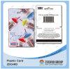 Carte de cadeau découpée avec des matrices par carte combinée de PVC Card/Special