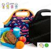 O neopreno isolado caçoa o saco do almoço para a escola, jardim de infância