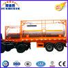 Gas-Tanker der Qualitäts-18500/24000liters 20FT LPG/LNG/Natural/Becken-Behälter-halb Schlussteil für den Indonesien-Markt