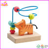 Baby di legno Beads Toy con il Cat Design (W11B023)