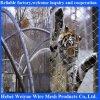Сетка балкона лестницы животных зверинца веревочки кабеля нержавеющей стали