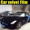 Velvet nero Plush Film per Car Wrap