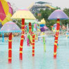 Pulverizador do guarda-chuva do jogo da água (WS-061)