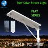 Bluesmartの長い寿命のアルミ合金50Wの太陽街灯